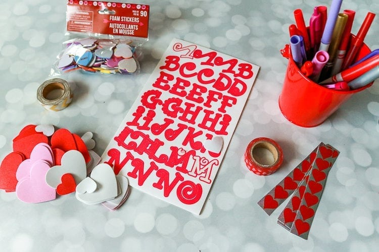How to make a Valentine Card Keeper