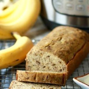 The Best Instant Pot Banana Bread