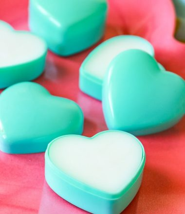 Easy Natural DIY Valentine Lotion Bars