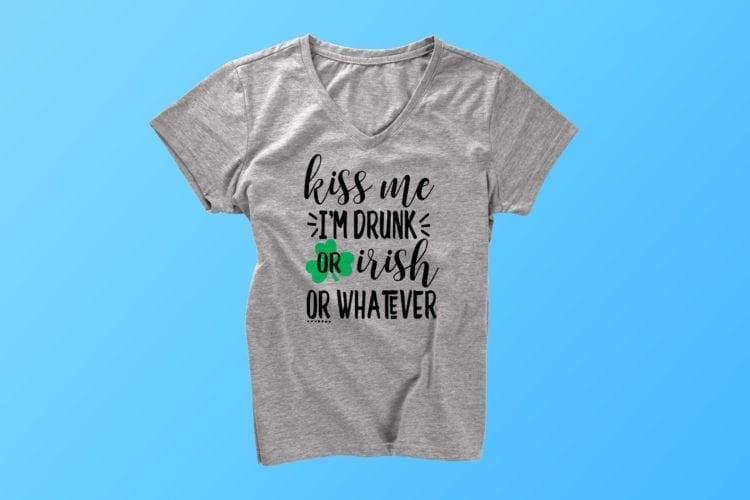 Kiss Me I'm Irish SVG