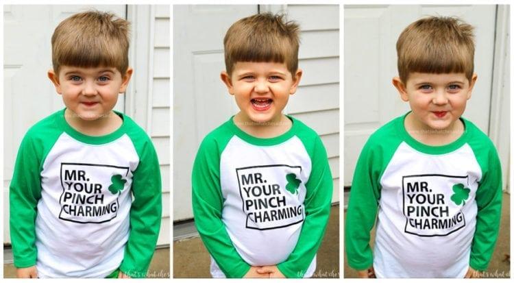 The Best Boy's St. Patrick's Day Shirt