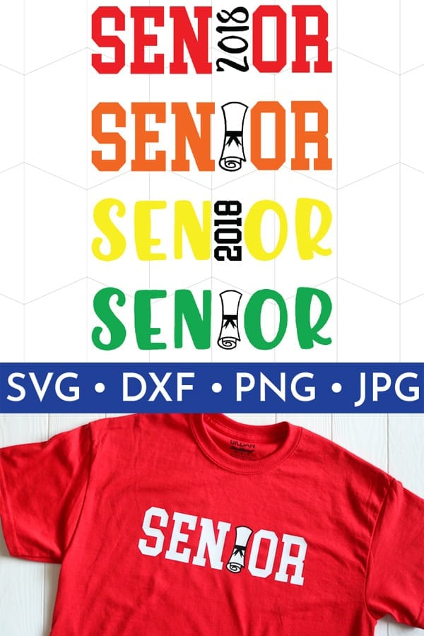 These are perfect for your soon to be senior student or your soon to be graduate to end the school year in style!