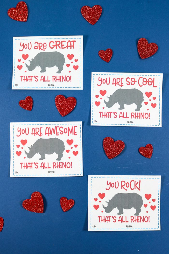 Free Printable Valentine's Day Cards. These are a fun play on words and cut to give!