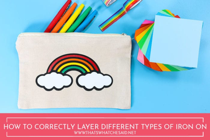 How to Correctly Layer Heat transfer Vinyl