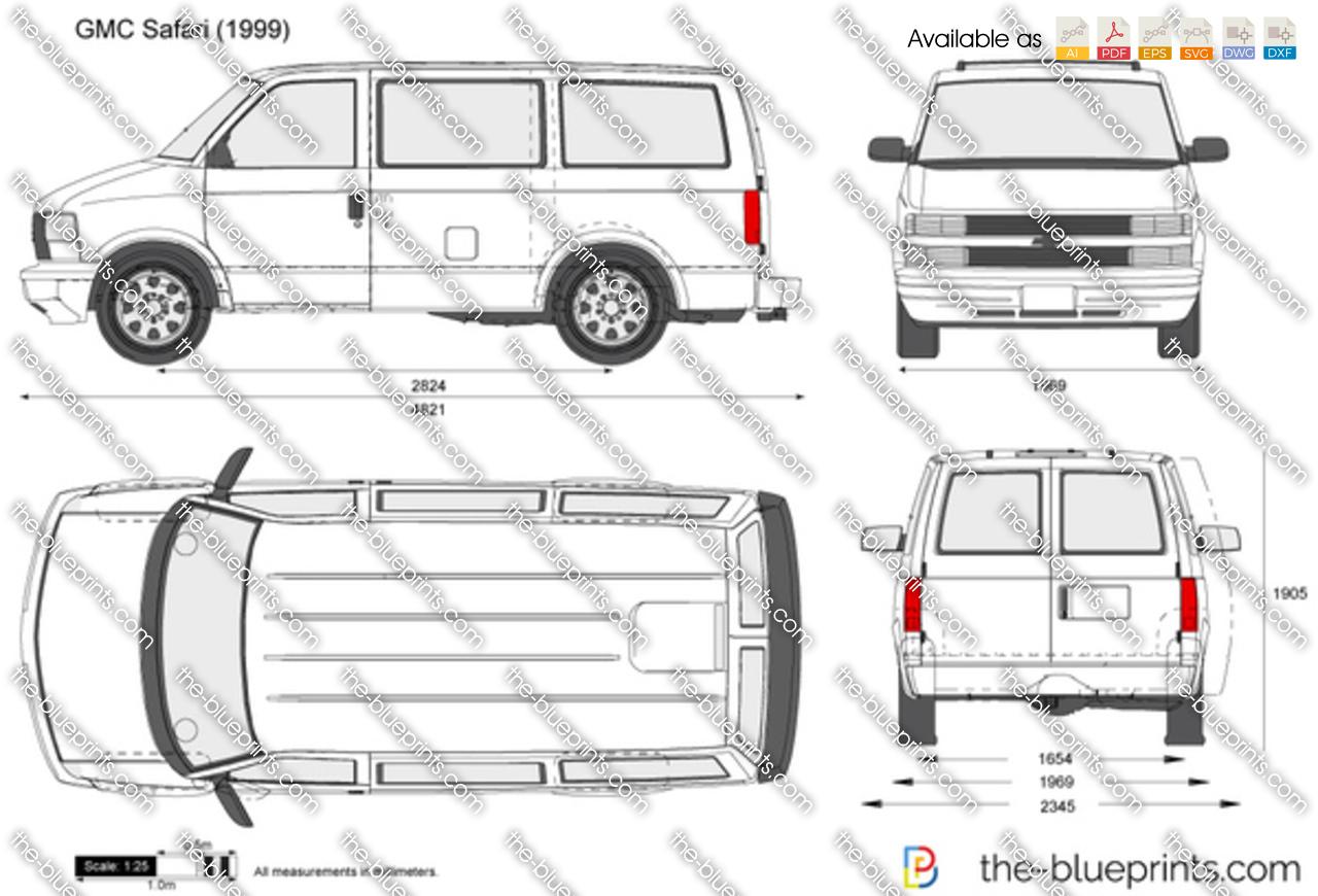 1995 Chevy Astro Van Gladiator