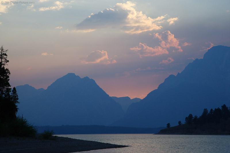 Jackson Lake Wyoming Sunset