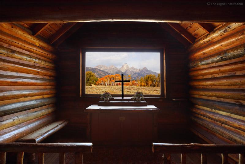 Inside The Chapel Of The Transfiguration Grand Teton
