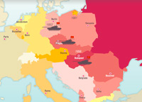 Europe and nations  1945 2005   The map as History Crises in Eastern Europe