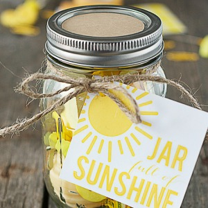 Handmade Gifts Sunshine In A Jar The 36th Avenue