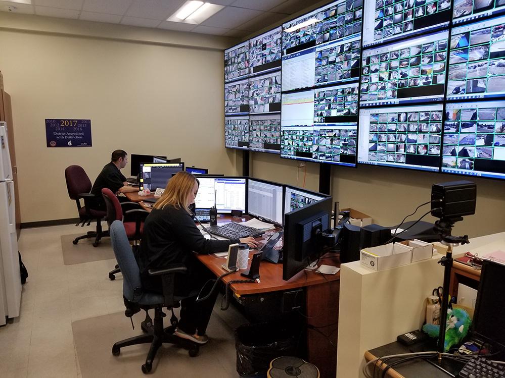 Companies Install Security Cameras
