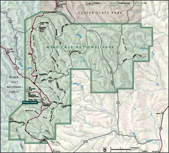 Jewel Monument South Dakota Cave National