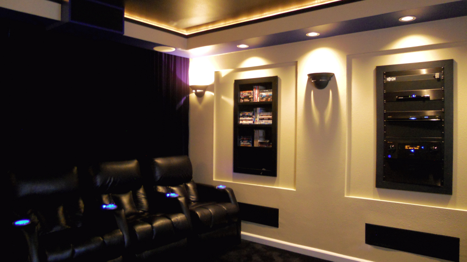 Home Theatre Room Decorating Ideas