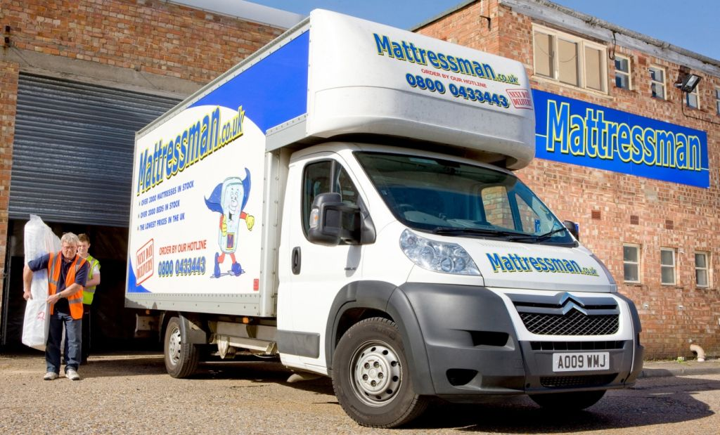 A Comfy Ride   Mattressman Opts For High Cube Citro    n Relay Luton Vans