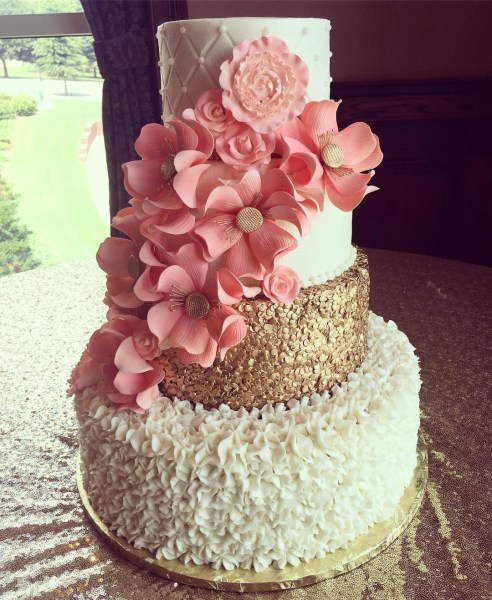 Beautiful Wedding Cakes by The Baking Grounds Bakery Caf     GALLERY