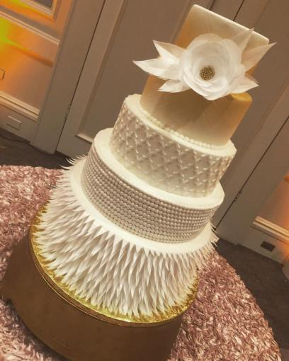 Beautiful Wedding Cakes by The Baking Grounds Bakery Caf     SEE FULL GALLERY