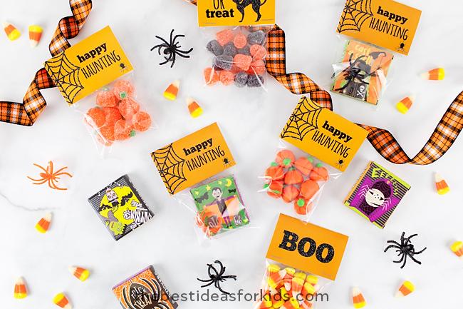 Free Halloween Tag Printables