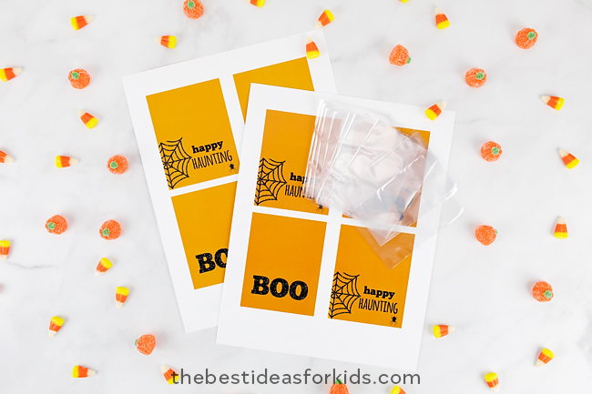 Halloween Tag Supplies