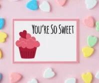 Printable Valentine Tag