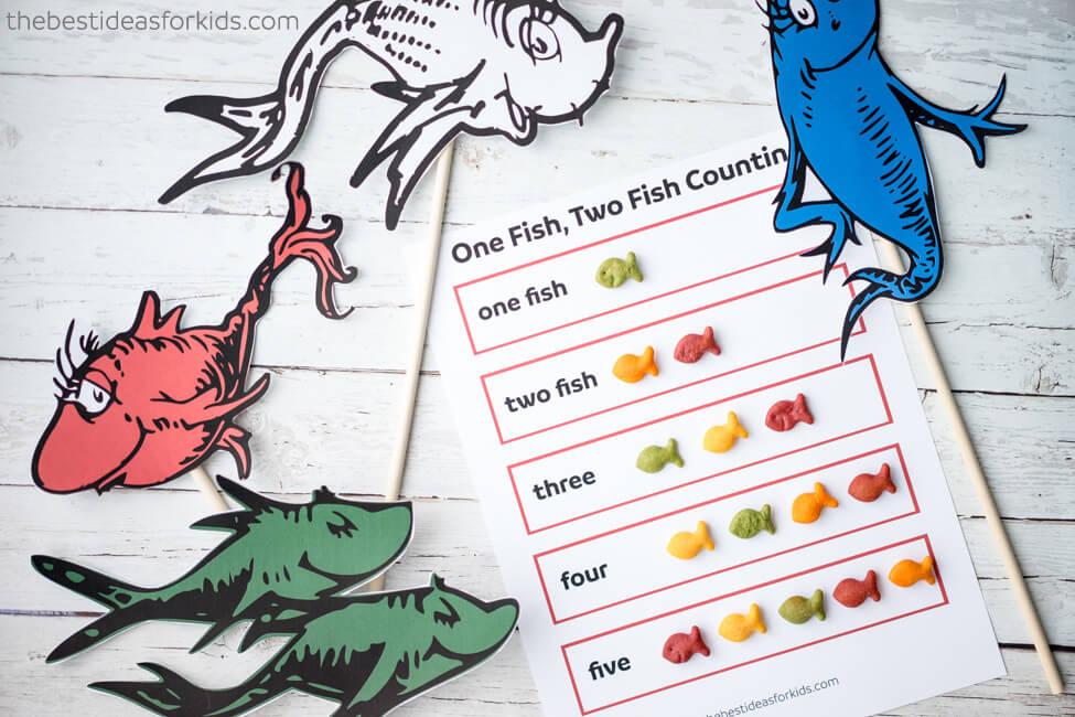 One Fish Two Fish Free Printable