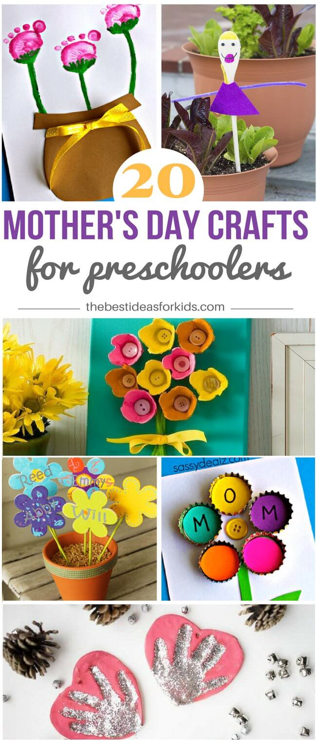 Mother's Day Crafts for Preschoolers
