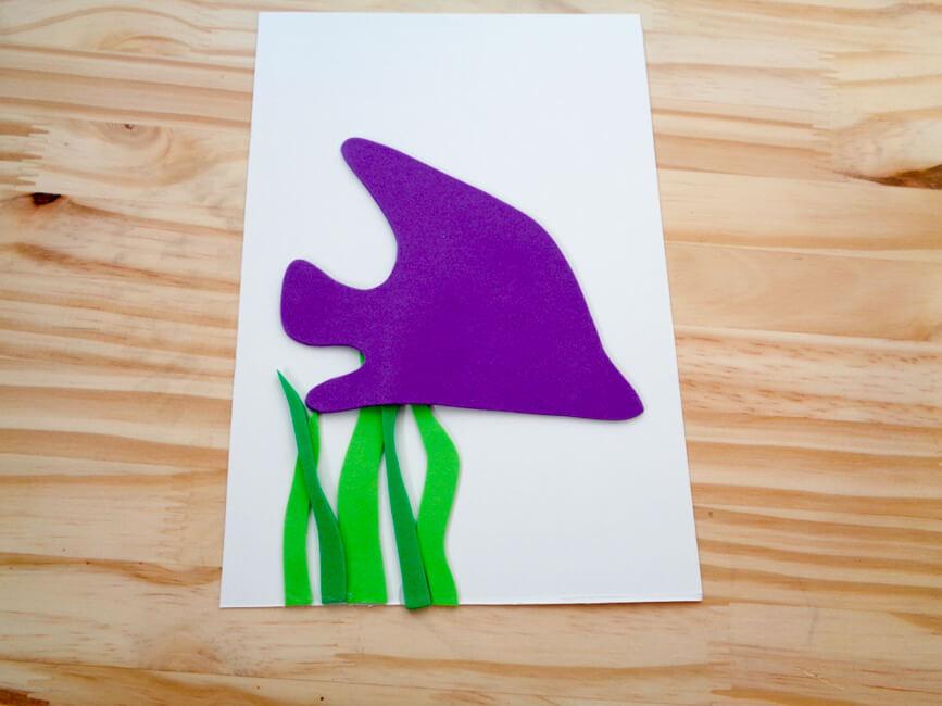Glue Fish to Card