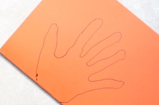 Trace Child's Hand
