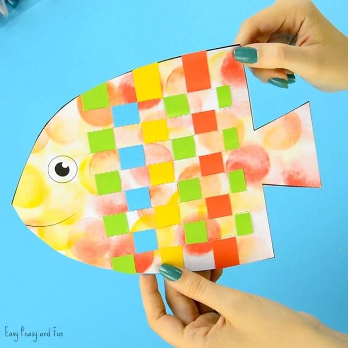 Fish Weaving Craft