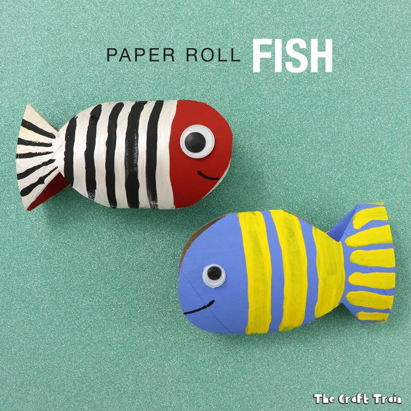 Paper Roll Fish