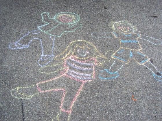 Sidewalk Chalk Games