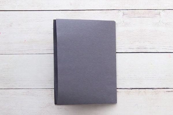 Fold Black Paper