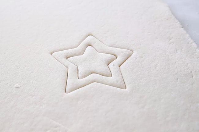 Star Cut Outs for Salt Dough Decorations