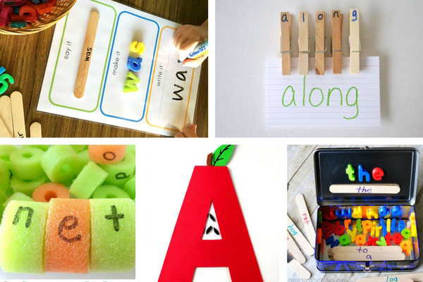 Learning to Read Activities for Kids