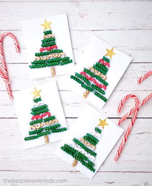Preschool Christmas Craft Macaroni Pasta Noodle Art