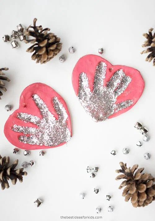 How to Make Salt Dough Handprint Ornament Recipe