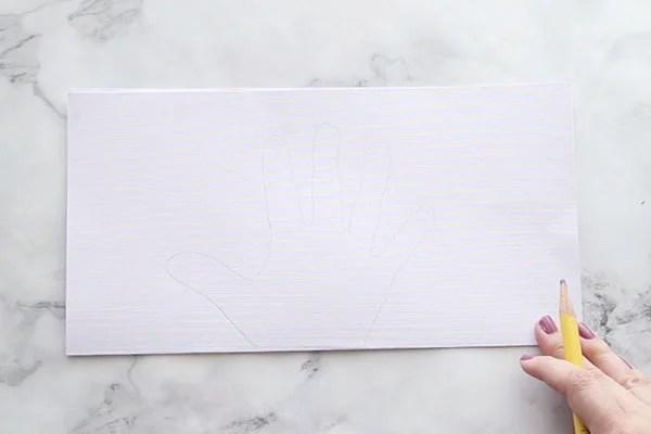 Handprint Craft for Christmas