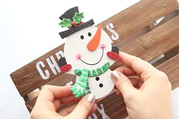 Decorate Christmas Eve Box