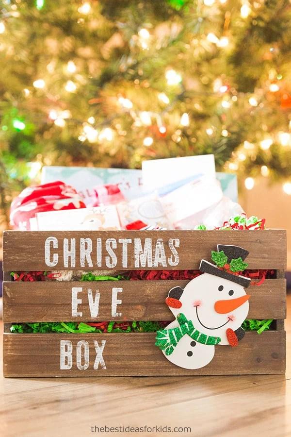 Xmas Eve Box Ideas