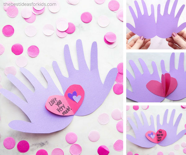 Hands Holding Hearts Valentine