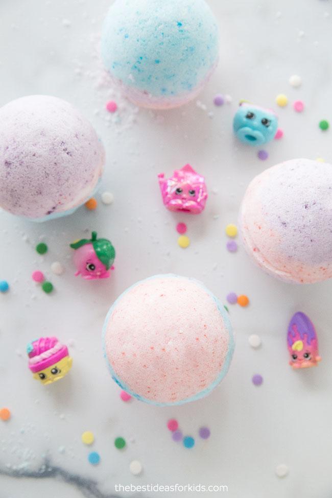 DIY Bath Bombs for Kids