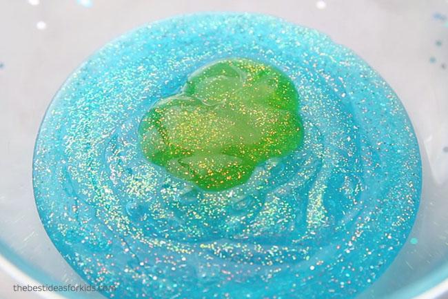 Mermaid Slime Glitter Glue
