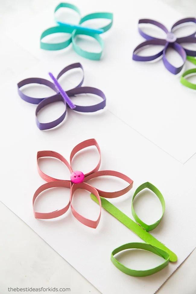 Toilet Paper Roll Butterflies