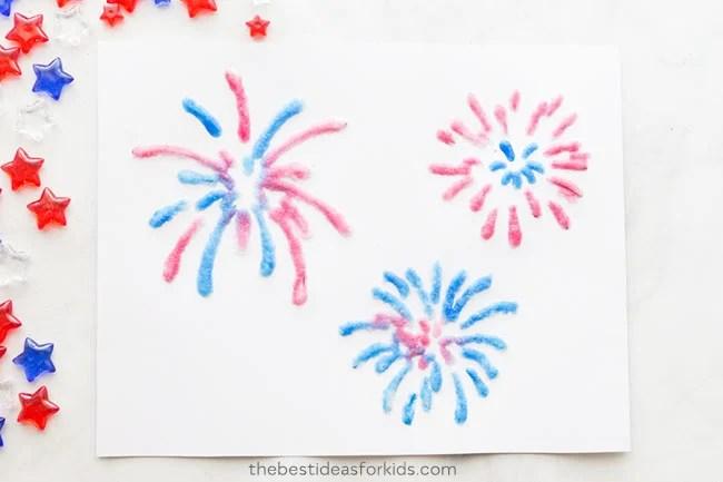 Fireworks Free Printable