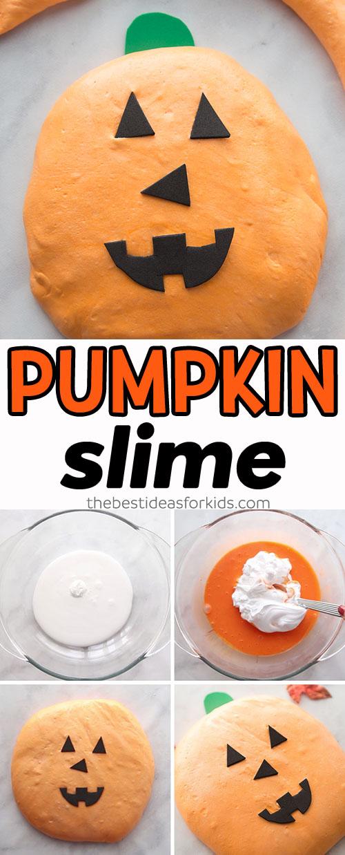 Fluffy Pumpkin Slime Recipe