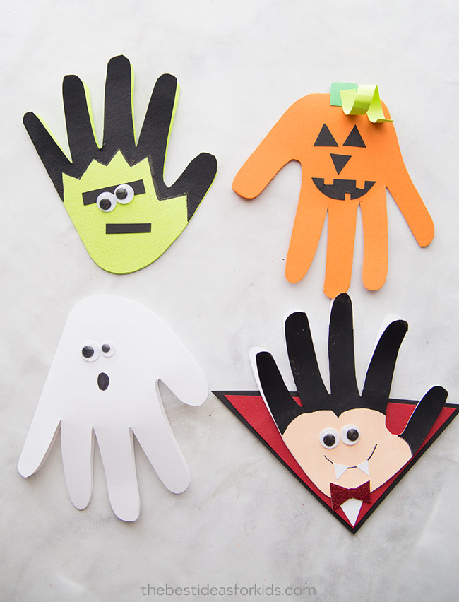 Halloween Handprints