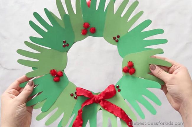 Hand Wreath Craft