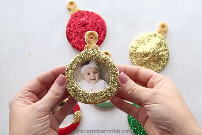 Add Photo to Salt Dough Ornament