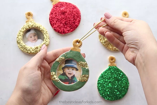 Add Twine to Salt Dough Ornaments