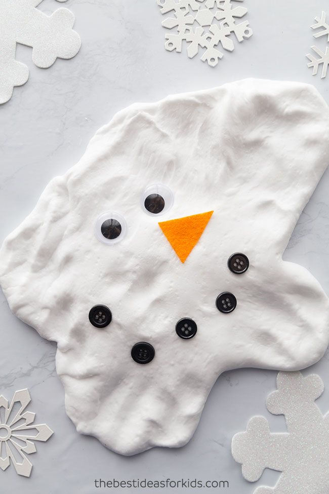 Melted Snowman Slime