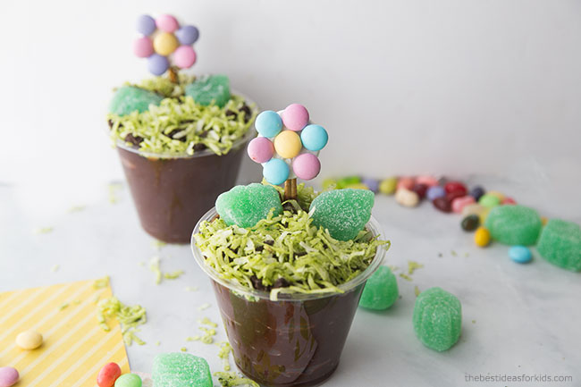 Spring Flower Cup Treat