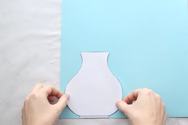 Trace Vase Template